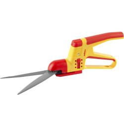 Ножницы GRINDA для стрижки травы,2-х комп пластмас ручки с защитой,поворот мех-м 180гр, 3-позиц регулировка высоты,360мм / 8-422025